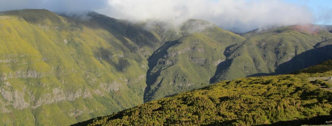 Berglandschaft auf Madeira