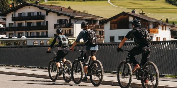 Stennabrücke Biker