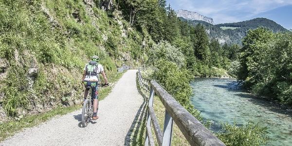 Auf dem Berchtesgadener Radstern Ost nach Marktschellenberg