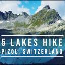 Pizol, 5 Lakes Hike
