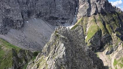 Blick zum großen Widderstein