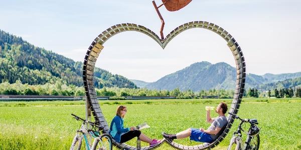 Pause am Apfelbankerl in Deutschfeistritz (c) TV Region OberGraz-Mias PhotoArt