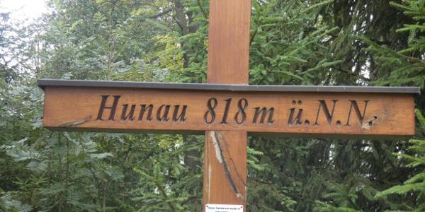 """""""Gipfelkreuz"""" auf der Hunau"""