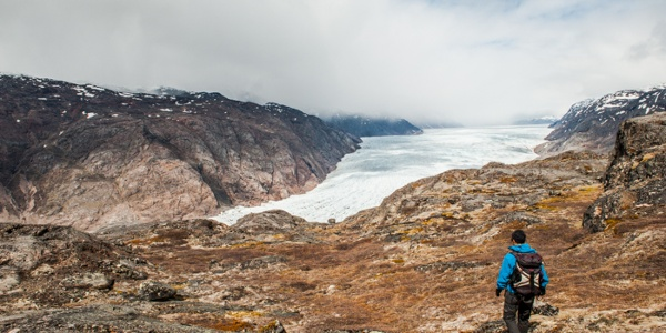 Narsarsuaq glacier, Photo by Camilla Hylleberg