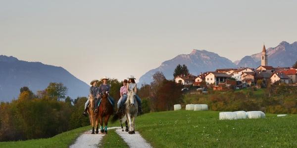 Nevegal a Cavallo - La Via delle PREALPI