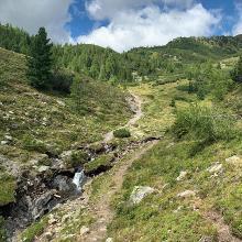 Weg zwischen Bockhütte und Pfannsee
