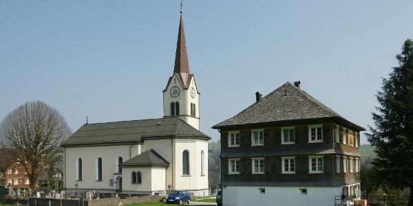 Alberschwende, Expositurkirche Heiliges Herz Jesu Mariä 1
