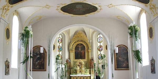 Andelsbuch, Katholische Pfarrkirche Heilige Petrus und Heiliger Paulus 2