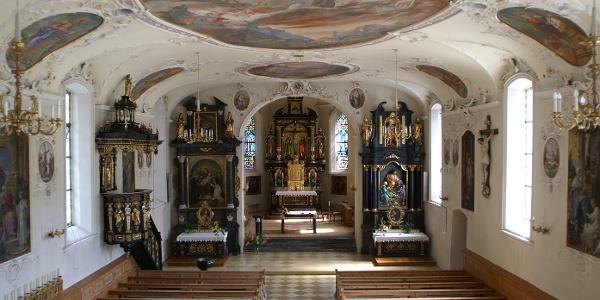 Au, Katholische Pfarrkirche Heiliger Leonhard 2