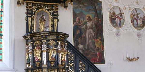 Au, Katholische Pfarrkirche Heiliger Leonhard 3