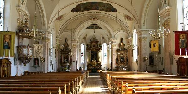 Bezau, Katholische Pfarrkirche Heiliger Jodok 2