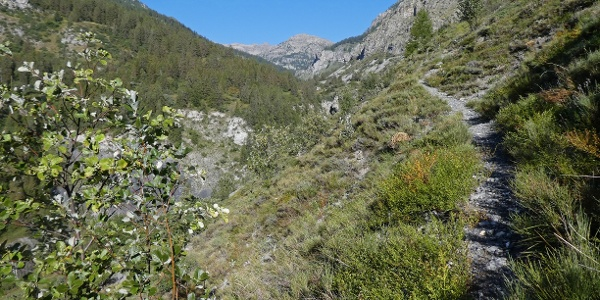 Am Weg zur Cascade du Piolart