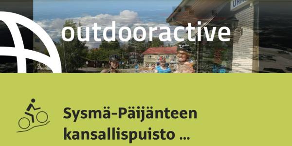 maastopyöräilyreitti Järvi-Suomessa: Sysmä-Päijänteen kansallispuisto Päijätsalo