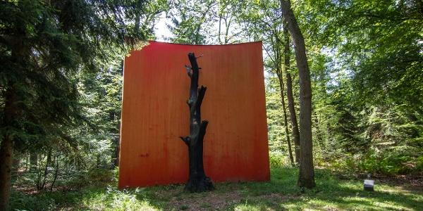 Forêt de Hauguenau - Le Monument du chêne de Gloria FRIEDMANN