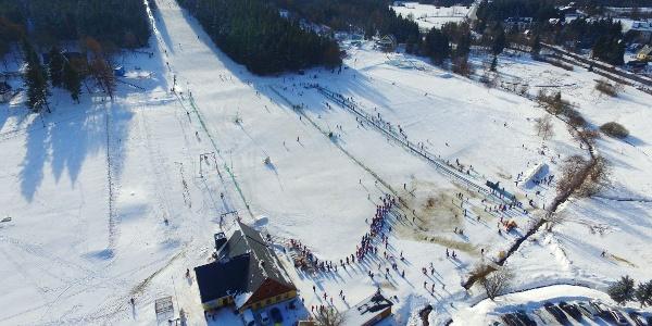 Skigebiet in Altenberg