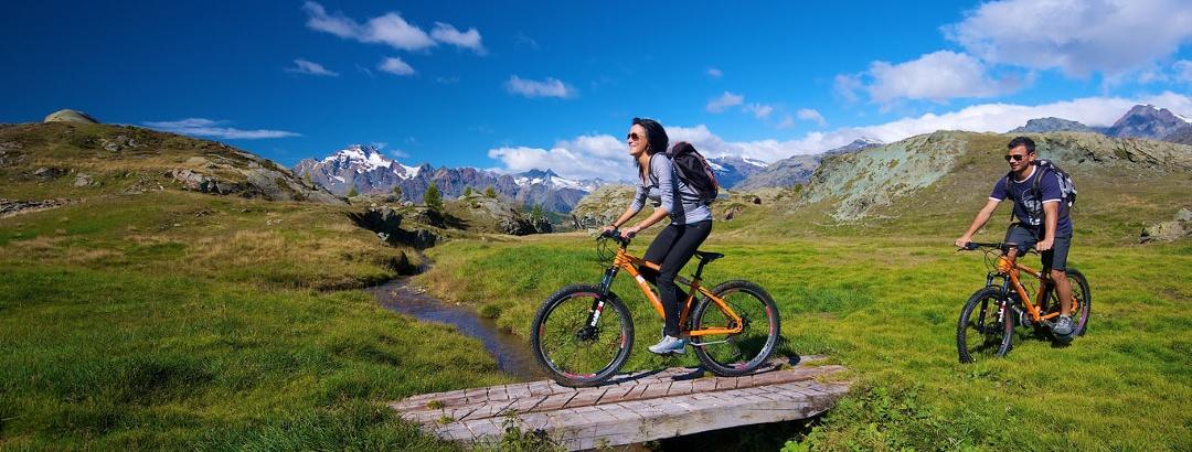 Mountain biking in Valmalenco, Lombardy