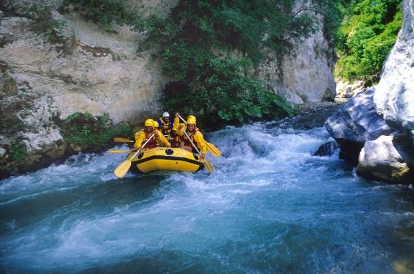 Rafting in Pollino National Park