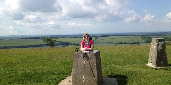 On Old Winchester Hill