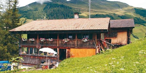 Haus Türli im Sommer