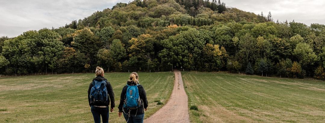 Wandern mit Jule und Sophie zum Geisingberg