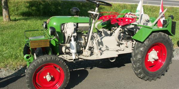 Traktor im Krassermuseum