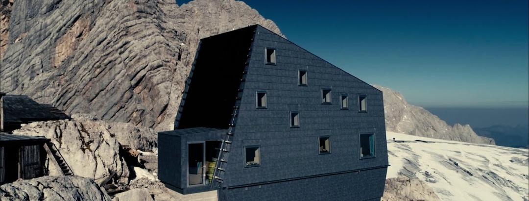 Dachstein Seethalerhütte Luftaufnahmen