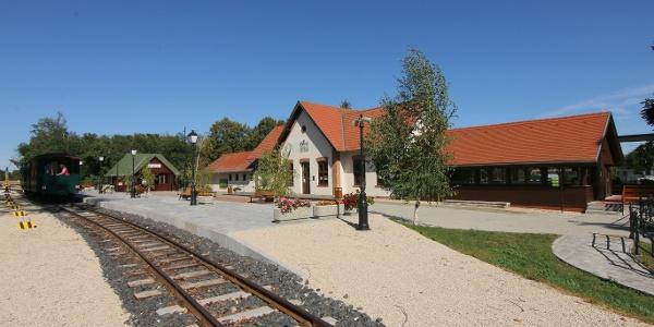 Nagycenki Széchenyi Múzeumvasút (Kastély (Nagycenk) állomás)
