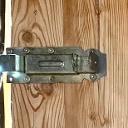 Schieberiegel an der Tür zur Aussichtsterrasse