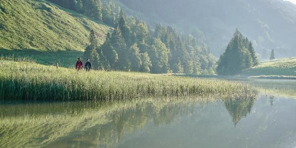 Der Lecknersee im Lecknertal