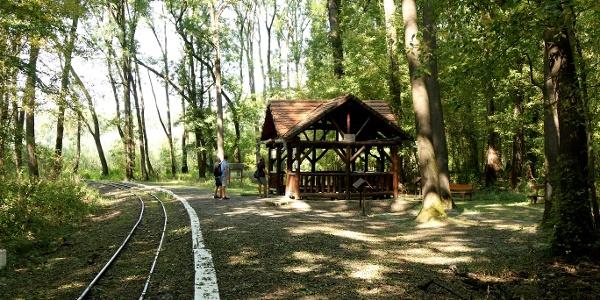 Gemenci Erdei Vasút (Malomtelelő megállóhely)