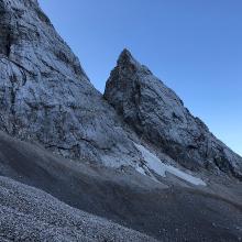 kurz vor dem Klettersteig