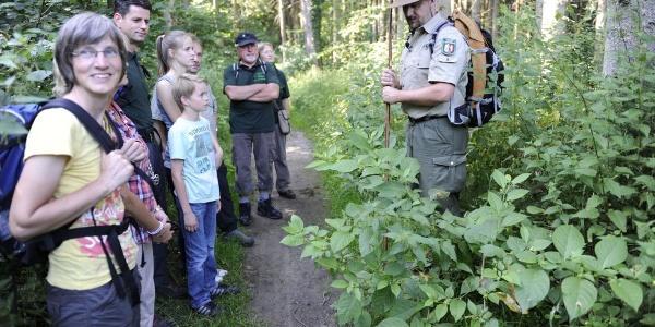 Wandergruppe auf dem Hönnepfad