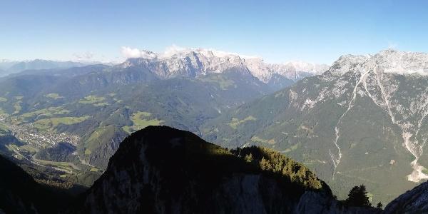 Morgentlicher Blick ins Salzachtal