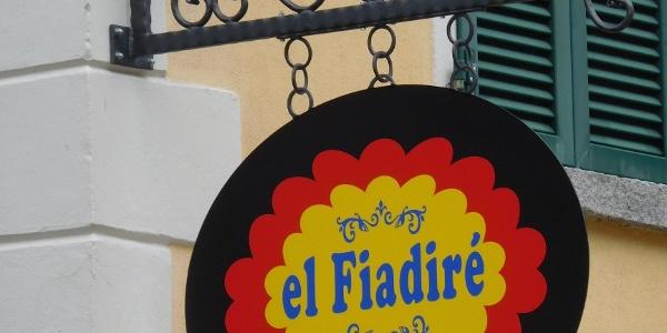 """Insegna """"el Fiadiré"""""""