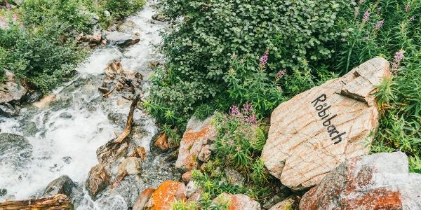 Zustieg Klettersteig Röbischlucht