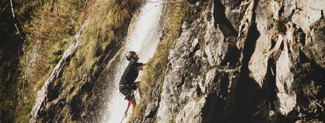 Klettersteig Wasserfall St. Anton im Montafon