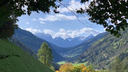 Blick zurück ins Mölltal