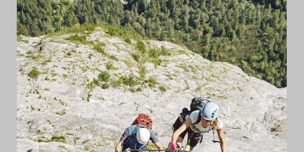 Klettersteig am Fallbach