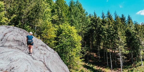 Klettersteig Latschau