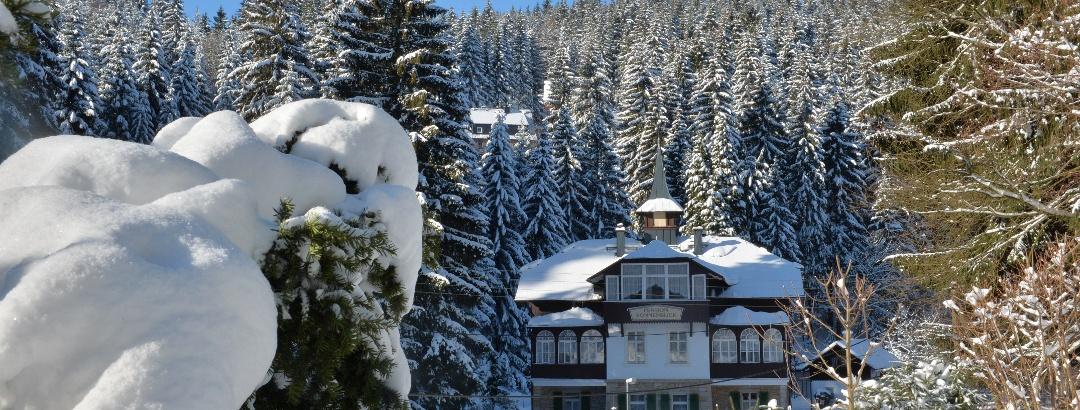 Urlaubsregion Altenberg im Winter
