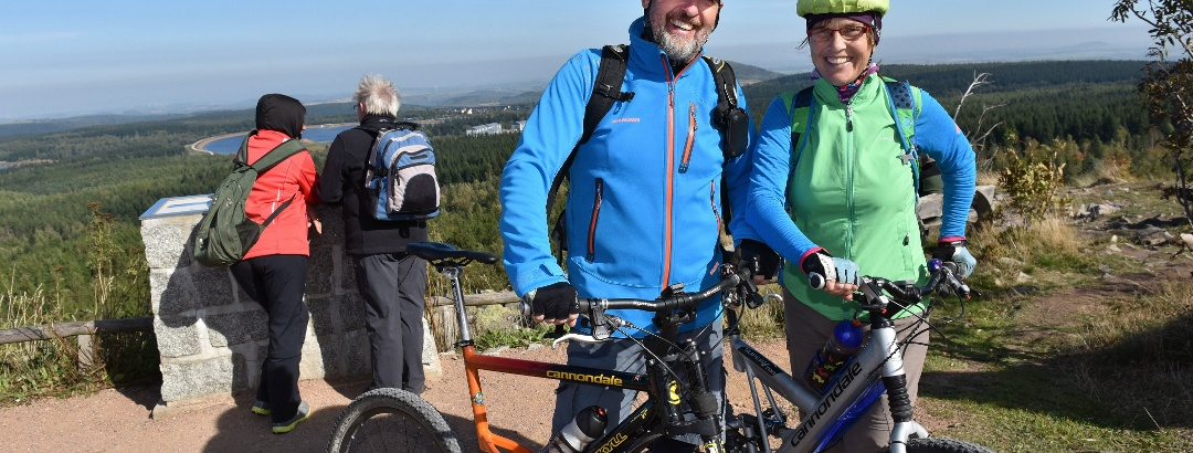 Urlaubsregion Altenberg - Radfahren - Kahleberg