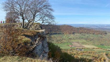 Blick vom Breitenstein zur Teck