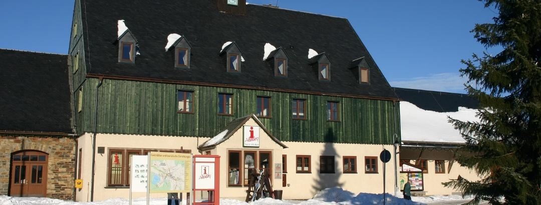 Urlaubsregion Altenberg im Winter - Tourist-Information