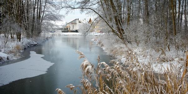 Bad Gögging im Winter