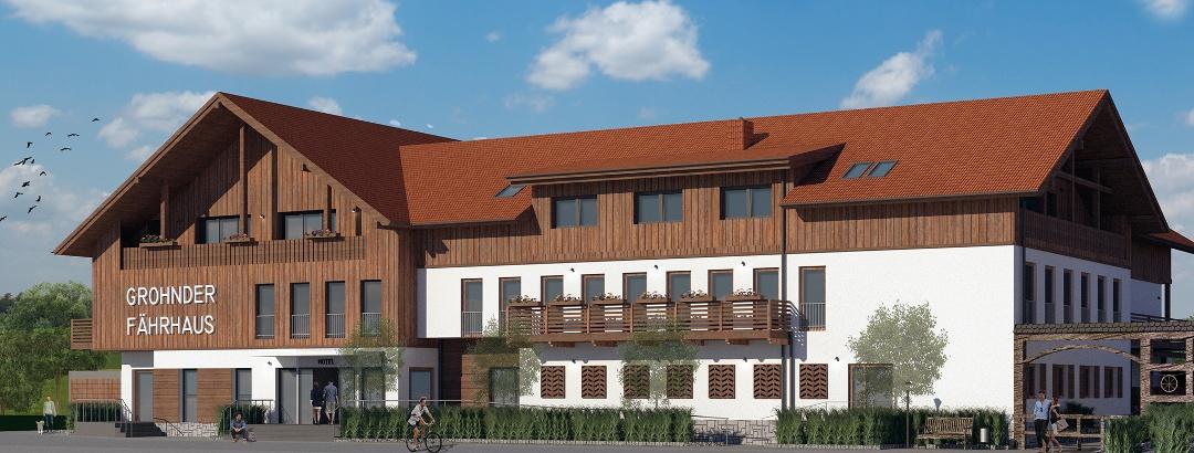 Grohnder Fährhaus - Hotelansicht