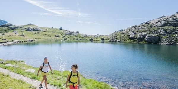 Wandern am Langsee - Spronserseen
