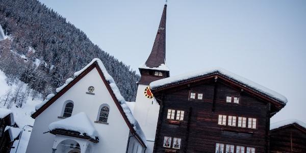 Mountain village Biel (VS)