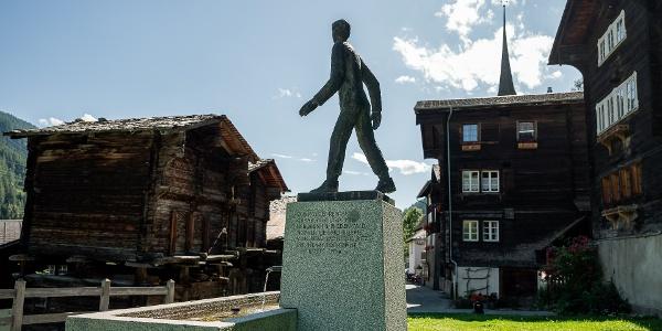 Monument of Caesar Ritz in Niederwald