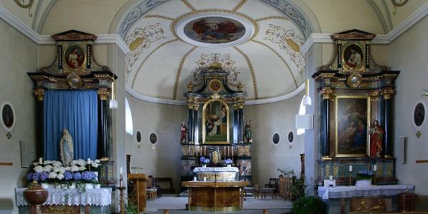 Eichenberg, Katholische Pfarrkirche Heiliger Bernhard 2
