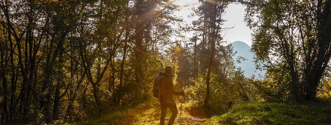 Trekking lungo il percorso